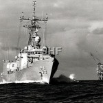 DARWIN HMAS_ in Bass Strait_