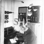 DIMBOOLA, Radio office. SHF Coll.