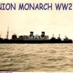 DOMINION MONARCH WW2. GA0875