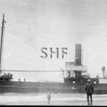DOUGLAS MAWSON 1914-1923. Aground near Hat Head, NSW. SHF Co