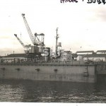 DUBBO HMAS (1), 1942-1958_ in dock 1958_GKA_