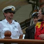 Deck officers making decisions