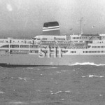 EMPRESS OF AUSTRALIA 1965-1992,at sea. SHF Coll.