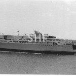 EMPRESS OF AUSTRALIA 1965, launching. SHF Coll.