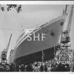 EMPRESS OF AUSTRALIA launch day 1965. SHF Coll.