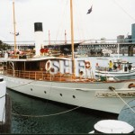 ENA 1902, at Pyrmont 'duckpond,' c.1988. SHF Coll.