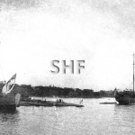 ENCOUNTER HMAS & HMAS PLATYPUS with submarines, before 1923