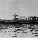 ENGADINE. 1896, steam launch, AGL, SFL, H and L