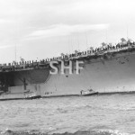 ENTERPRISE USS, 1961,nuclear, enters Sydney Nov. 1964. SHF C