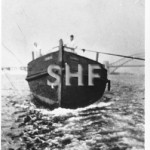 ERRINGHI, hulk, 1907-1951 towed to sea to sink. SHF Coll.