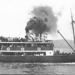 EXCELSIOR 1905 Hobart. To Qld.1911.Scrap c.1937.SHF Coll.
