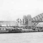 FORMIDABLE HMS, 1939-1953, Sydney Oct. 1945. SHF Coll.