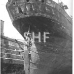 FORTUNA in dock. SHF Coll.