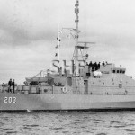 FREMANTLE HMAS, 1979-2006. August 1980. SHF Coll.