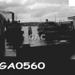 Ferries in Quay. GA0560.