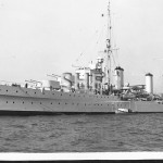 GALATEA HMS, 1934- sunk Dec.14, 1941.postcard. SHF Coll.