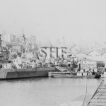 GLORY, BERWICK & GUARDIAN HMSs at W'loo August 29, 1945. SHF