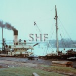 H E STREET 1949- barge 1983, PWD. SHF Coll.