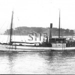 HASTINGS 1901, GUNDIAH 1915. scuttled 1946. SHF Coll.