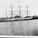 HERZOGIN CECILE 1902-1936,at Port Adelaide. SHF Coll.