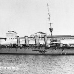HMAS MELBOURNE 1913-1928_ as built_ SHF Coll_