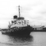 HOWARD SMITH 1952, MELBOURNE 1968, scuttled 1979. SHF Coll.
