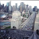 Harbour Bridge, look south 1991. File 1123-9.