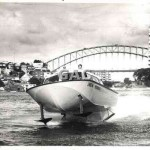 Hydrofoil, Gallagher Safety patrol, c.1965.