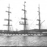 ILLAWARRA 1881-sunk 1912, anchored. SHF Coll.