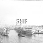 IMPLACABLE HMS 1942-1955 at 7 W'loo. June 14, 1945. SHF Col