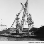 IRON FLINDERS 1959-1978 with crane PELICAN, SHF Coll.