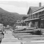 Illawong Bay boatshed, 1973. Proof 276-18A.