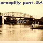 Indooroopilly punt. GA0934.