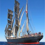 James Craig under full sail