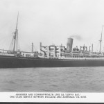 JERVIS BAY 1922 - sunk in action Nov 5, 1940. postcard. SHF