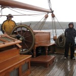 John at helm and Jo MoB on full alert