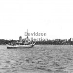 K Class RAN boom ship and buoys,Royal Visit.Feb 2, 1954. File
