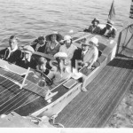 KALOWA Manly excursion speedboat, pre WW2. SHF Coll.