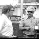 Karl Kortum with Ron Wayling, q.v. 1974. Proof 74-11