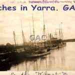 Ketches in Yarra. GA0687