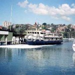 LADY NORTHCOTT,@ Mosman bay, 1990.File 1083-26.
