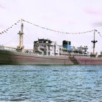 LAKEMBA 1946-wrecked 1967. hand-tinted. SHF Coll.