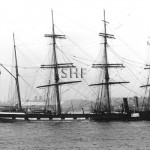 LOCH CARRON 1885, with tug. Sunk 1915. SHF Coll.