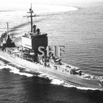 LONG BEACH USS,.nuclear, 1961. Sydney in April 1967.SHF Coll