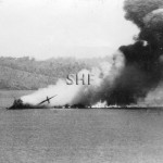 MACDHUI 1931- 1942, Port Moresby air attack,sinking. SHF Co