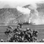 MACDHUI 1931-June 18, 1942,Bomb hit Port Moresby. SHF Coll