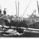MACUMBA 1919-1943, after collision with SYDNEY STAR, Sept 19