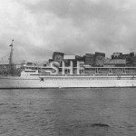 MALOLO 1927, later QUEEN FREDERICA 1954. SHF Coll.