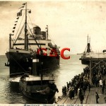 MALOLO.SS. 1927.,later QUEEN FREDERICA. Melb. c.1930.
