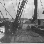 MANANUI 1896-1916. with timber deck load.SHF Coll.